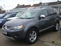 MITSUBISHI OUTLANDER INTENSE WARRIOR H-LINE DI-D (grey) 2008