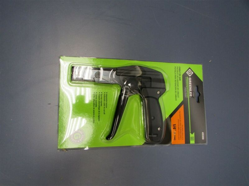 "New Greenlee 1/4"" Cable Tie Gun 45300"
