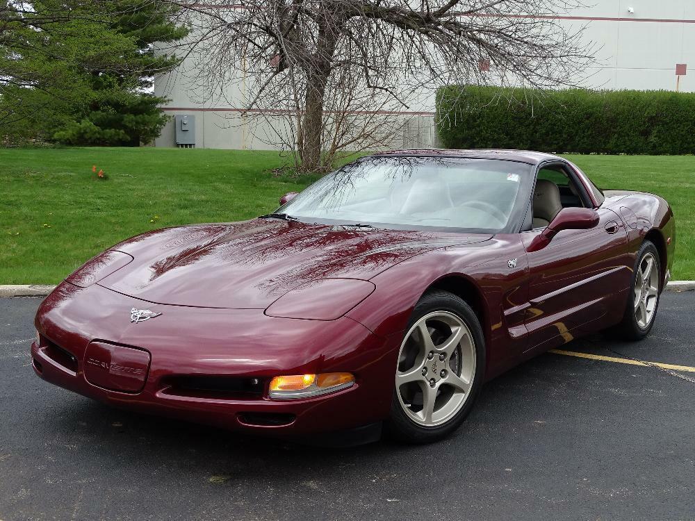 2003 Red Chevrolet Corvette     C5 Corvette Photo 3