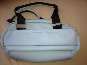United Colors of Benetton Light Blue Satchel handbag/purse