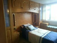 SHARPS Golden Pine Fitted Bedroom in Excellent Condition