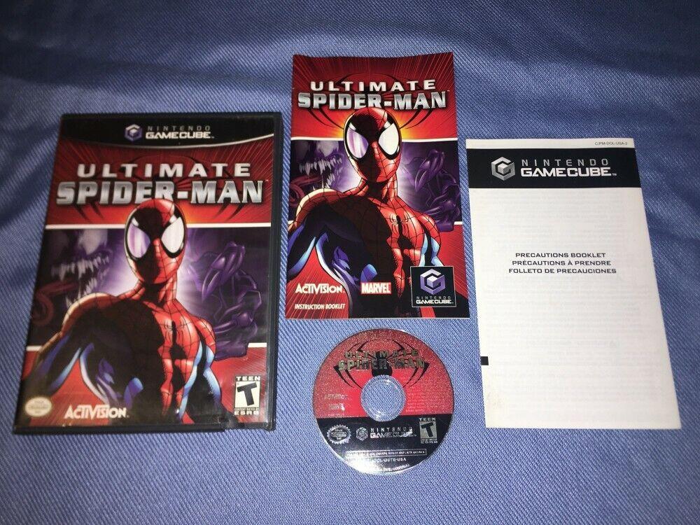 Ultimate Spider-Man Nintendo GameCube *COMPLETE IN BOX, CIB* Good Condition!!