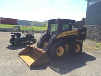 New Holland L180 Skid Steer at Auction