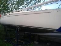 1981 Niagara 26 Sailboat