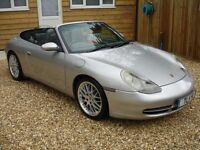 PORSCHE 911 MK 996 CARRERA CABRIOLET (silver) 1999
