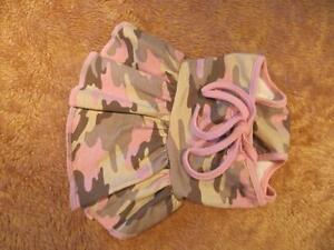 Dog Clothing - Pink Camouflage Dress