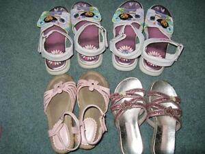 Little Girls Summer Shoes - Sizes 9-10 Sarnia Sarnia Area image 5