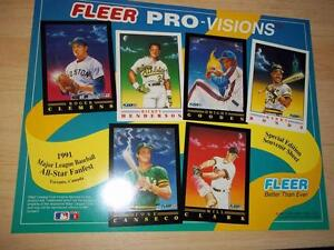 Unique Major League Baseball Collectables from the 1990's