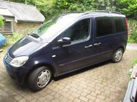 Wheelchair accessible Mercedes Vaneo Trend - Brotherwood conversion, 3 seats + wheelchair