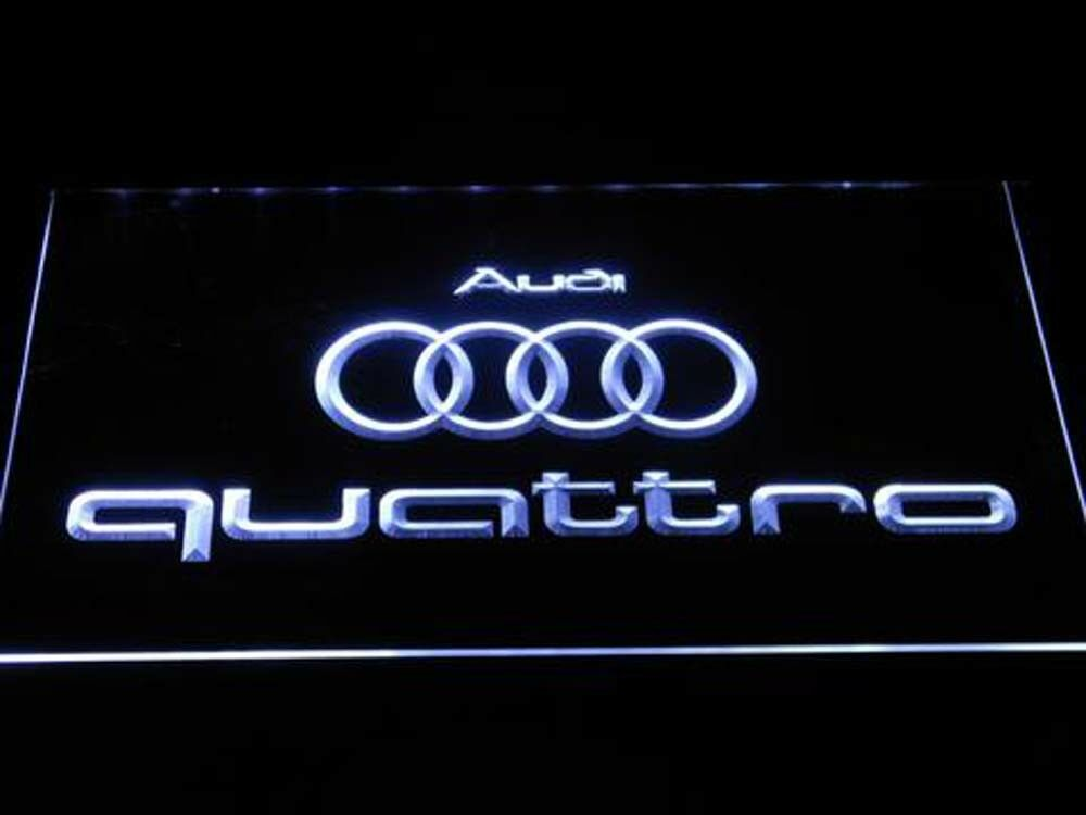 Audi Quattro Racing car Led Neon Sign for Game Room,Office,B