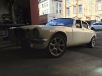 tax exempt 1976 Jaguar 3.4litre XJ6 9000 miles 2 owners £4500 Edinburgh