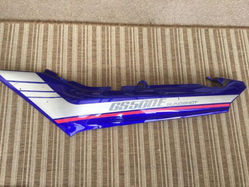 SUZUKI  GS500 E  SLINGSHOT LEFT-HAND SEAT PANEL  FAIRING 47211-01D00