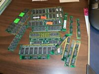 MISCELLANEOUS OLD  RAM BOARDS