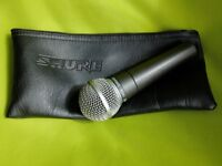 SURE SM58 Microphone with case