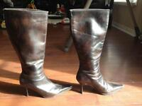 Stiletto Boots - Size 8