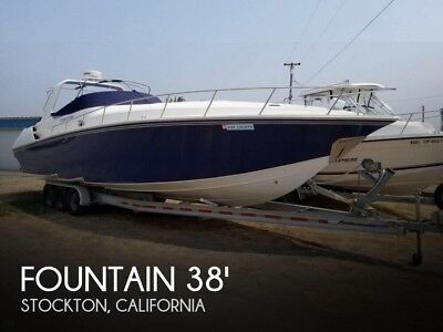 2007 Fountain 38 Express Cruiser Used
