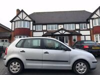 VW POLO AUTOMATIC, 04 REG, 50K MILES, HPI CLEAR, 5 DOOR, MOT, DRIVES MINT, DELIVERY AVAILABLE
