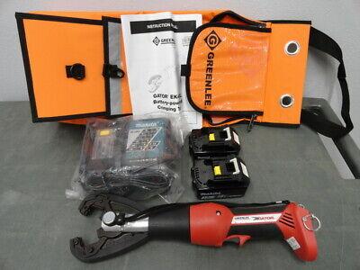 New Greenlee Ek425lk11 Cjk Kearney Jaw Cordless 18v Battery Crimper Kit Ek425l