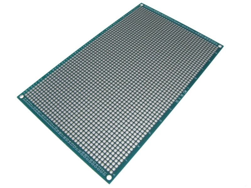 HQ 20*30cm Double Side Prototype Board Perforated 2.54mm Plated Breadboard