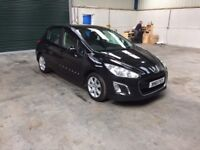 2012 Peugeot 308 active hdi 1 owner fsh full mot guaranteed cheapest in country