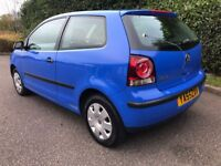 BARGAIN 2006 Volkswagen polo 1.2 E 3dr IDEAL NEW DRIVER ONLY 66K FROM NEW F.S.H CHEAP TAX/INSURANCE