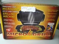 brand New microwave bbq grill