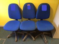 50 office swivel desk chairs blue