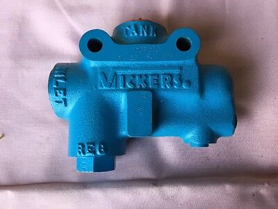 Vickers Safety Relief Valve Rm3-12s-200-10