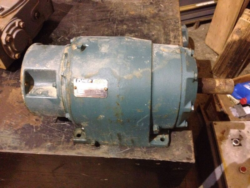 Reliance Electric 140TM16A 70.6:1 Gearbox Speed Reducer
