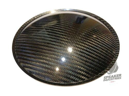 """8"""" inch (200mm) Carbon Fiber Subwoofer Dust Cap"""