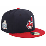 Cleveland Indians New Era 59FIFTY MLB World Series Fitted Cap Hat - Size: 7 3/4