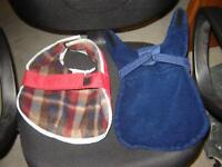 2 DOG COATS(LINED)/PETS/TOYS