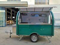 catering trailer food trailer burger van Suitable for 2 people