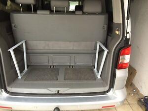 Multiflexboard VW T5 Multivan Konsolen 1:1 Zuschnittvorlage H 46cm