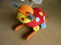 Mamas And Papas Rocking Lotty Ladybird baby ride on rocker