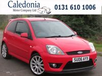 FORD FIESTA ST 16V 2.0 3DR HEATED LEATHER (red) 2006