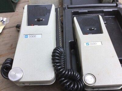 Pair Of Tif 5500 Halogen Leak Detectors Used