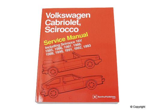 Repair Manual-Bentley Repair Manual WD EXPRESS fits 85-93 VW Cabriolet