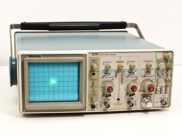 Tektronix Analog Oscilloscope : Tektronix analog oscilloscope ebay