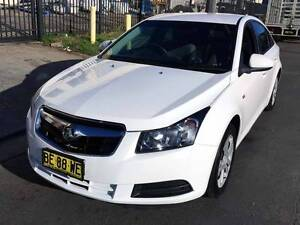2010 Holden Cruze Auto Low Ks Bright White Chatswood Willoughby Area Preview