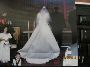 BUBBA - Designer White Wedding Dress