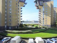 3 bedroom 2 bathroom flat minutes from Canary Wharf Station- Gym and Spa- Franklin Building