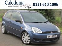 FORD FIESTA STYLE 1.25 3DR (blue) 2005