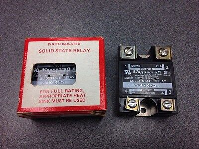 Lot Of 2 - New Magnecraft Solid State Relay W6102dsx-1 Free Shipping