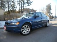 2002 BMW 325i fully loaded 160kms 5995+hst certified Toronto (GTA) Preview