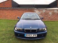 BMW 3 Series 2.0 318Ci SE 2dr p/xwelcome2003 53regCoupe 120K Miles Manual 1995cc Petrol+FSH+Year MOT