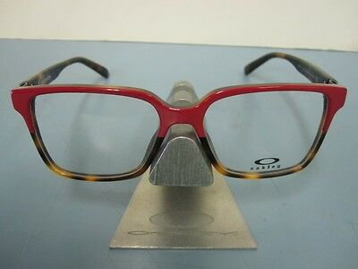 "OAKLEY womens CONFESSION ""PINK TORTOISE"" RX eye frame OX1128-0452~NEW in CASE~!"
