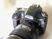 Nikon D810 body only boxed.