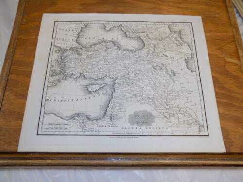 c1830 Antique Map///TURKEY IN EUROPE, published by Samuel Walker