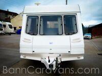 (Ref: 855) Swift Europa 5 Berth Perfect Starter Caravan!